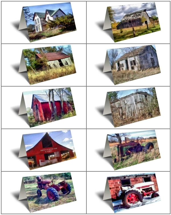 Old farms series 1 gift greeting cards boxed set xld cards old farms series 1 gift greeting card boxed set m4hsunfo